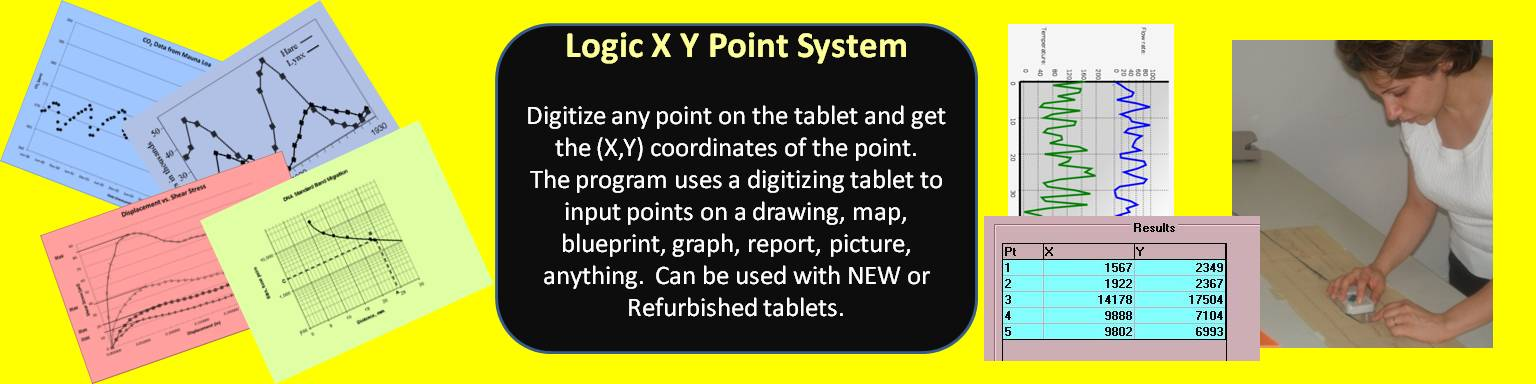 XY Point Digitizing for all industries