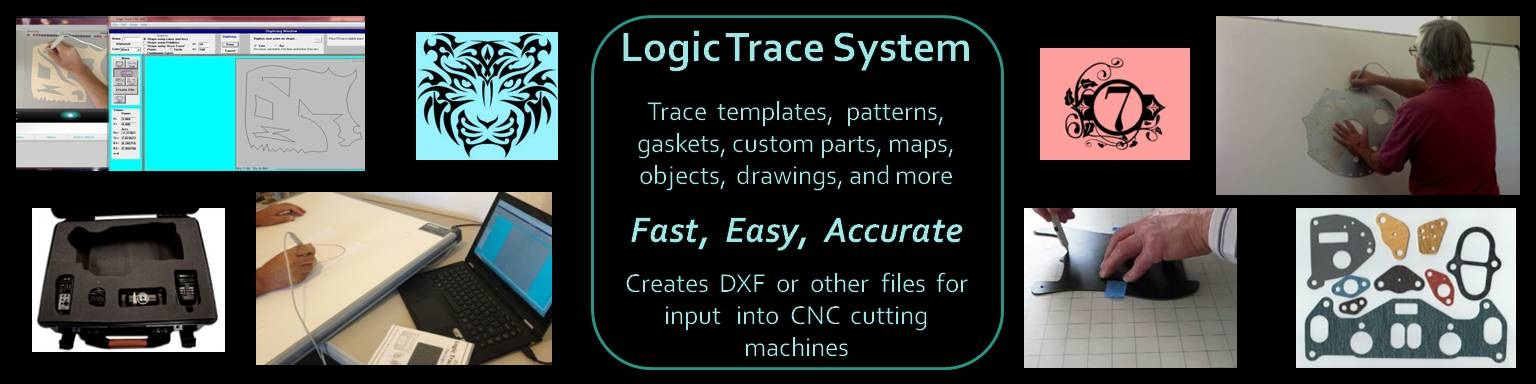 Tracing software for the cnc industries