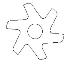 DXF Example Wheel